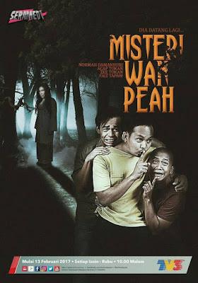 Poster Drama Misteri Wan Peah