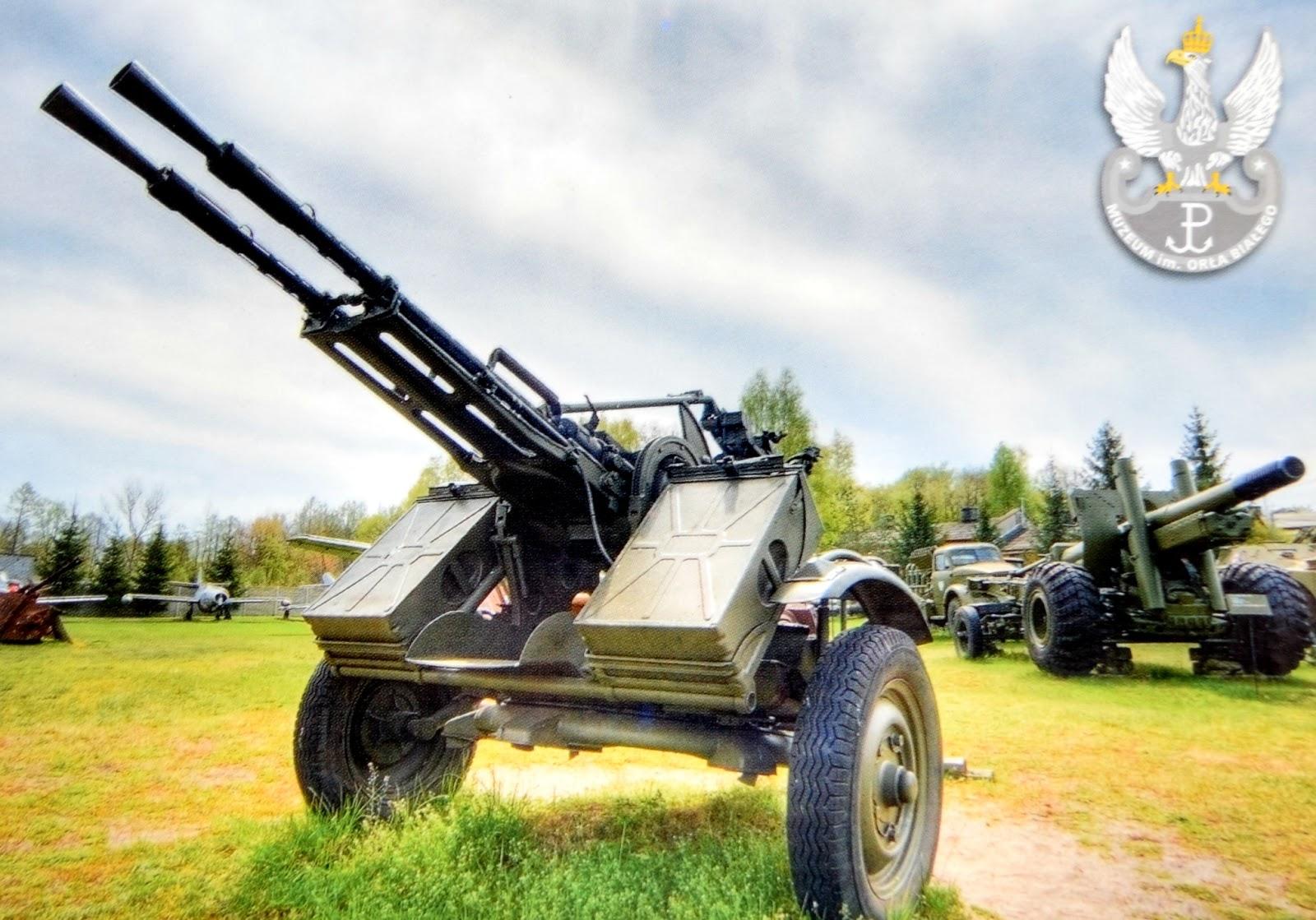Podwójnie sprzężony karabin maszynowy 14,5 mm ZU-2