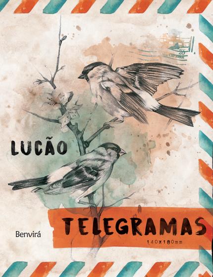 Capa do livro Telegramas, do Lucão