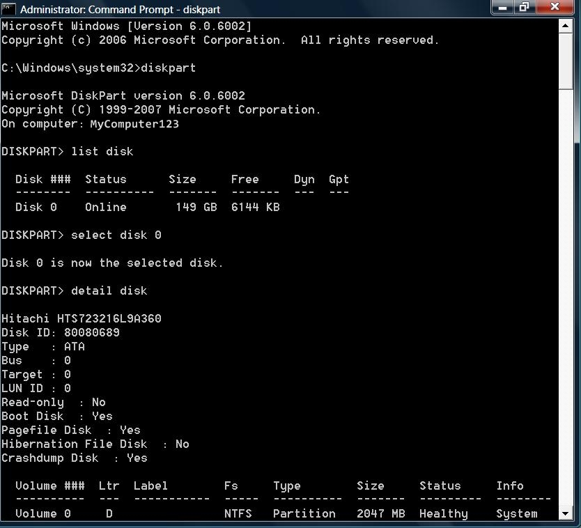 find command prompt
