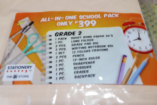 SM Department Store, SM Stationery, school supplies, school back pack, back to school tips