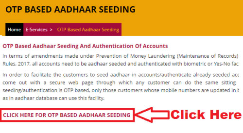 how to link aadhaar card with pnb account