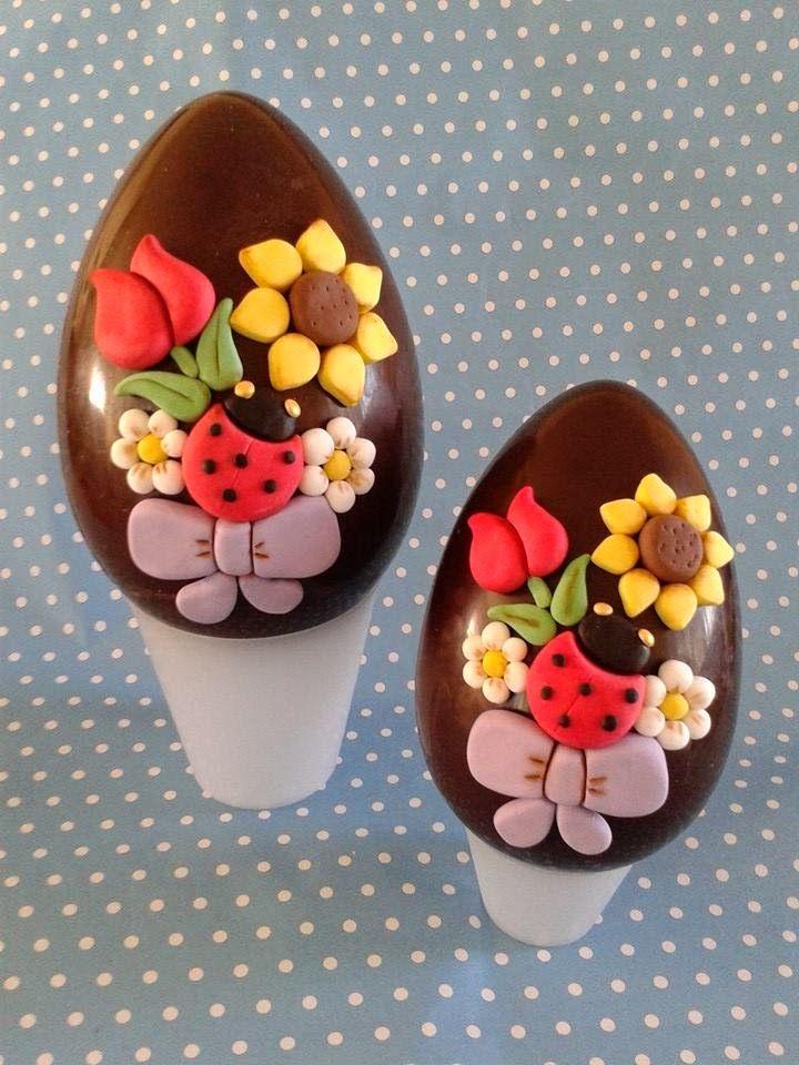 Zuccherosamente uova di pasqua decorate - Pasqua uova decorate ...