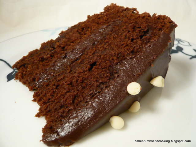 Cake, Crumbs And Cooking: Devil's Food Cake With Treacle