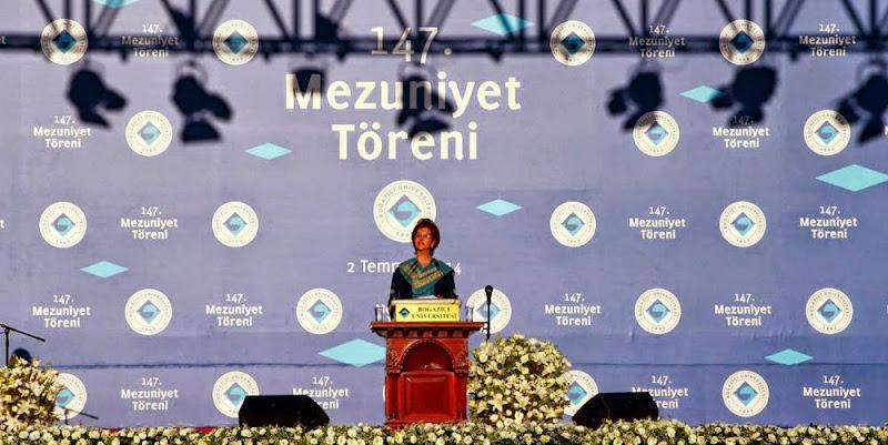 Boğaziçi Üniversitesi Mezuniyet Konuşması