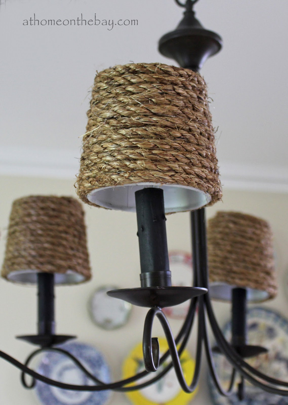 DIY: Pottery Barn Inspired Chandelier Shades