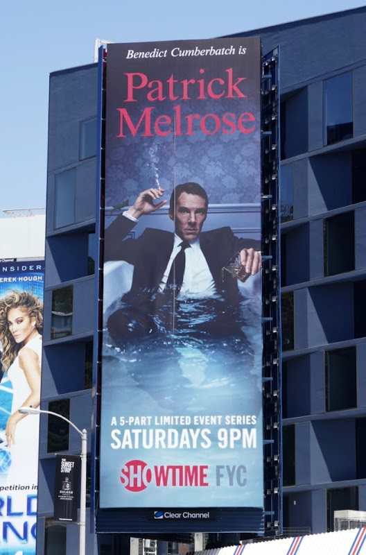 Patrick Melrose miniseries billboard
