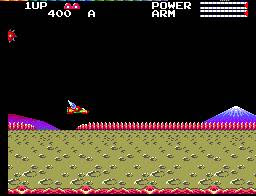 (Review OldSchool Digger) Transbot/ Nuclear Creature (Master System) Transbot2