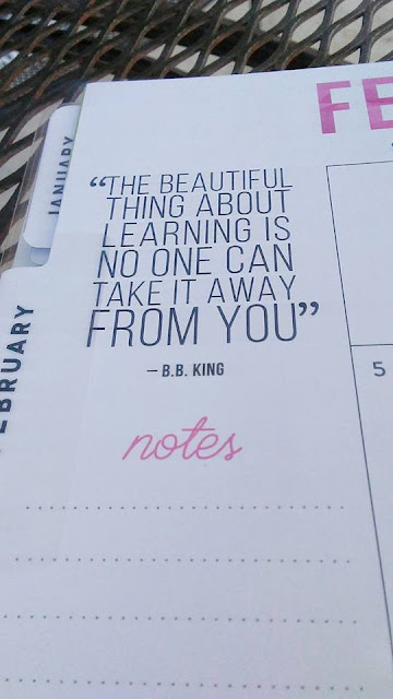 Motivational Quote from The Happy Planner