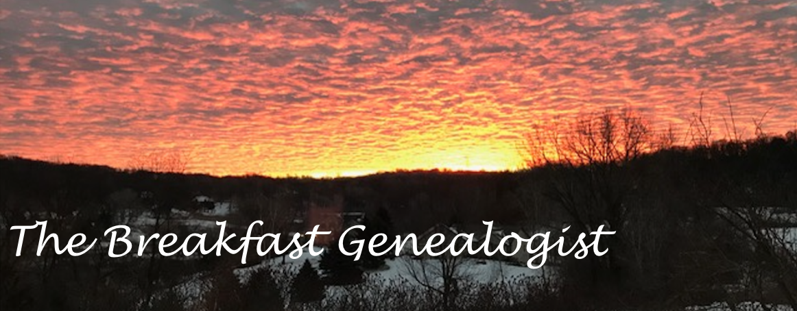The Breakfast Genealogist
