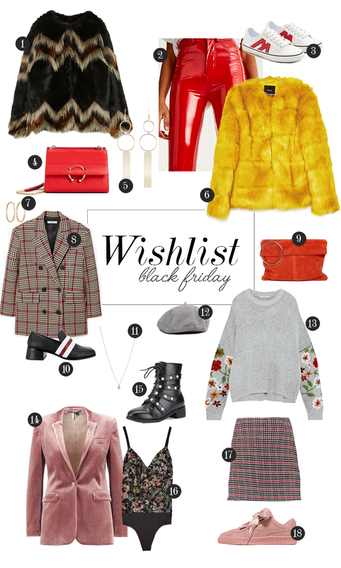 wishlist moda Black Friday