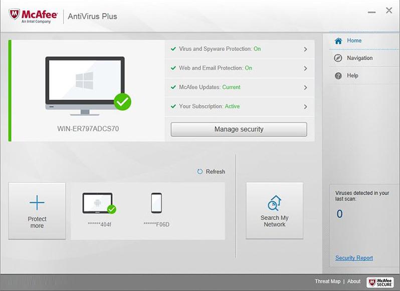 download mcafee internet security trial version