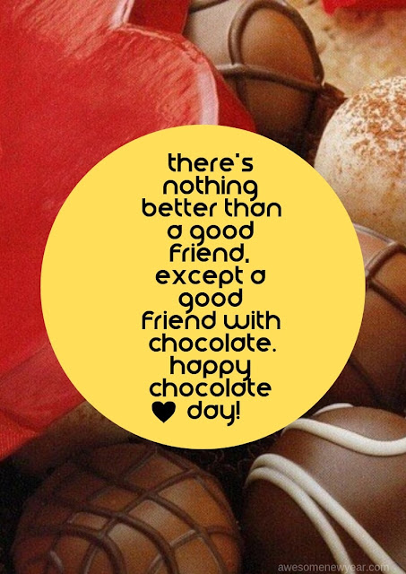 25 Feel Good #HappyChocolateDay Quotes to Share
