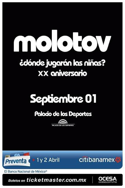 Molotov Palacio de los Deportes