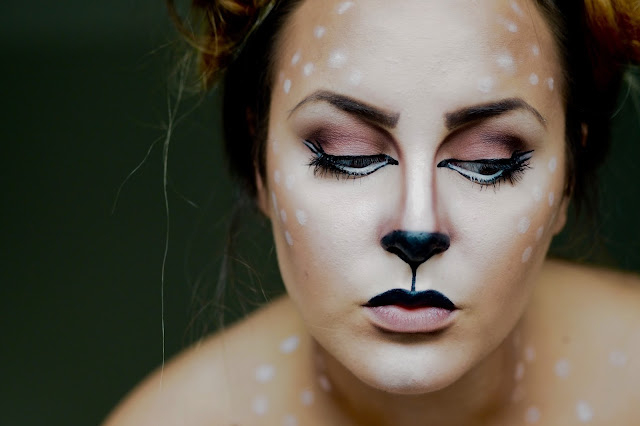 deer makeup look