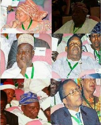 delegates sleeping national conference