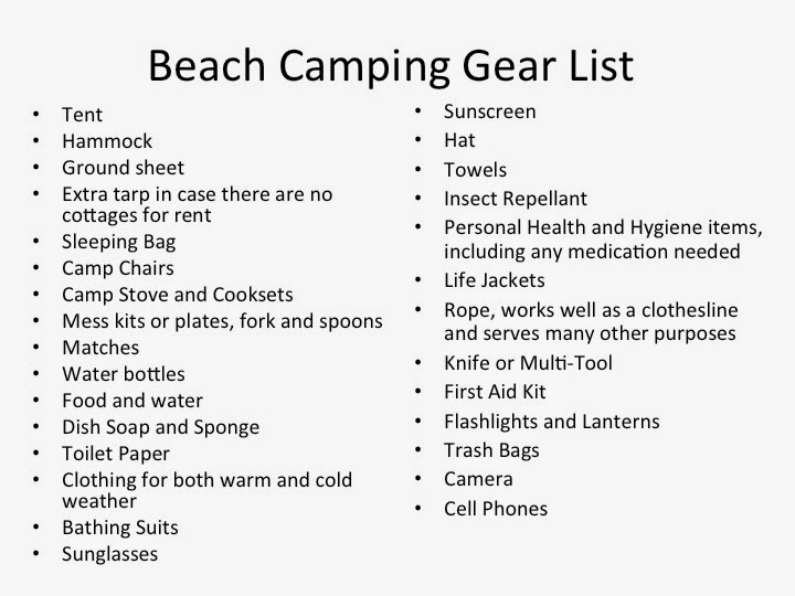 Beach Camping List The Best Beaches In World