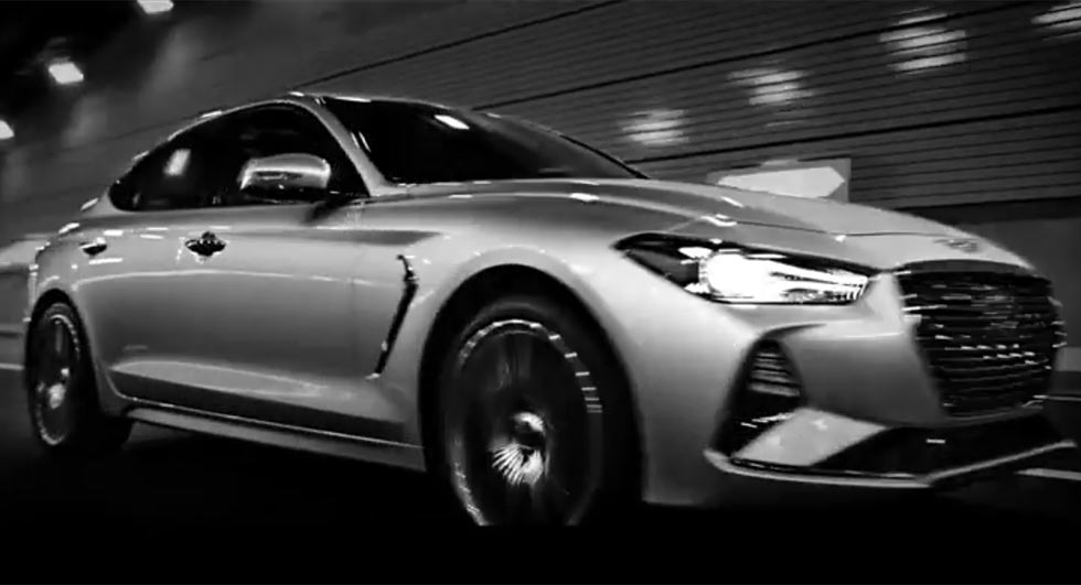 Genesis G70 Sedan Unveiled