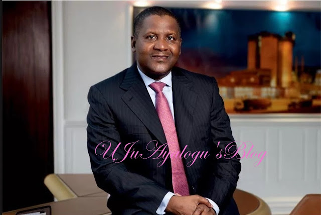 Too Much Money: Aliko Dangote Crowned As The Richest Black Person In The World...See List