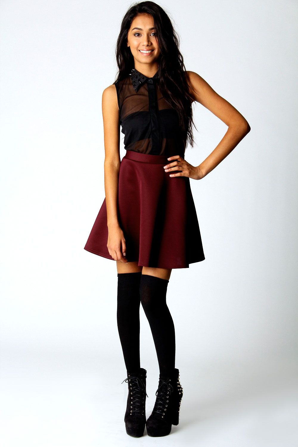 e140111e0 that indie rock kid: Winter Fashion Trend 2012 - Skater Skirts