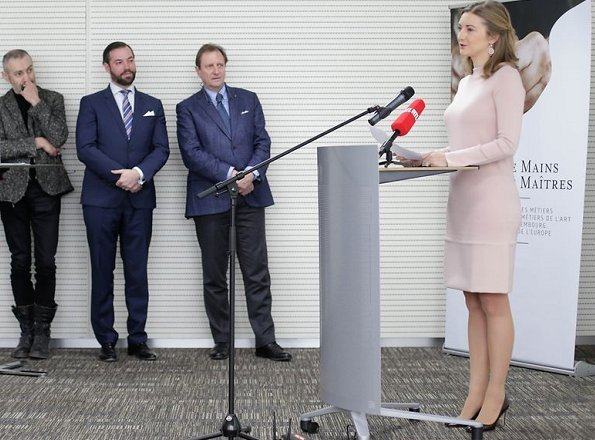 Hereditary Grand Duchess Stephanie and Hereditary Grand Duke Guillaume of Luxembourg