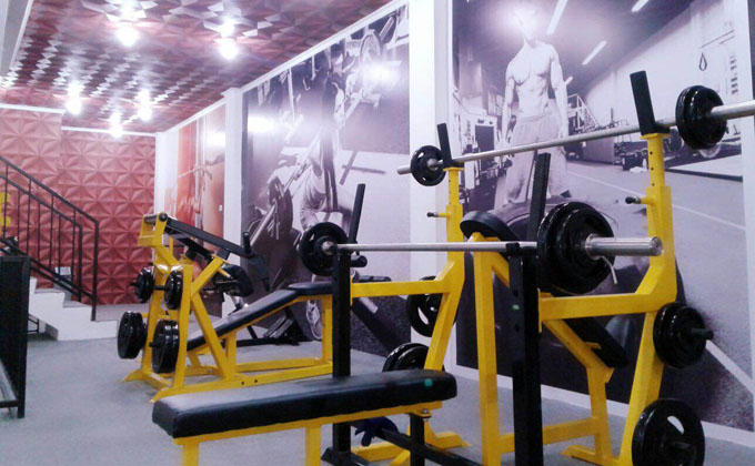 Image result for Tempat Gym terbesar di Indonesia GOLDS GYM
