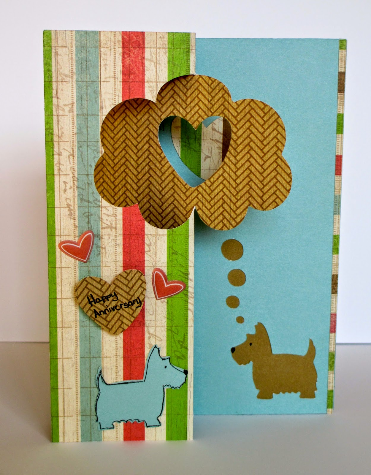 Scottie Dog Card, Create with Care