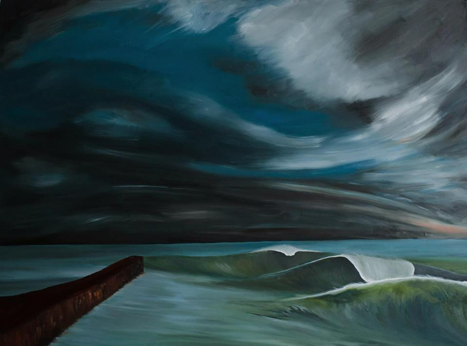 Adam Costello: surf art desde Manchester