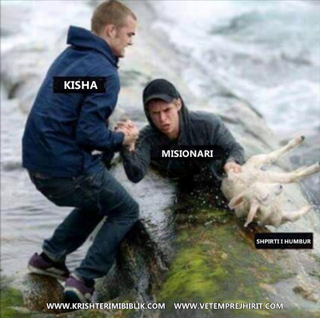 kisha ungjillore, misionar,
