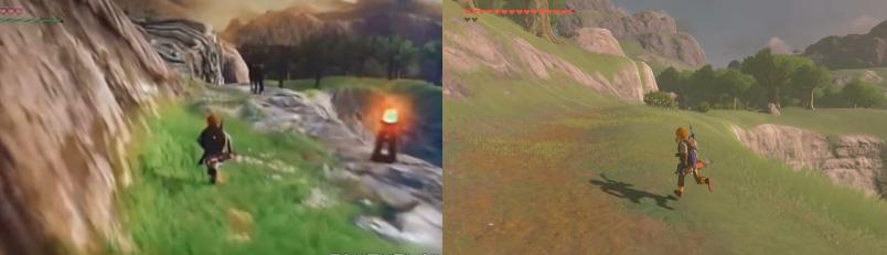 ¿Cuánto ha cambiado Zelda Breath Of The Wild desde 2014?, mira este vídeo comparativo