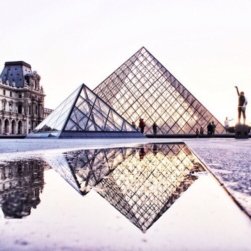 louvre museum | Images of inspiration in Lavender, Lilac and Mauve