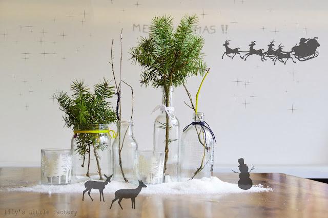 it 39 s christmas time 5 du verre de la neige du sapin. Black Bedroom Furniture Sets. Home Design Ideas
