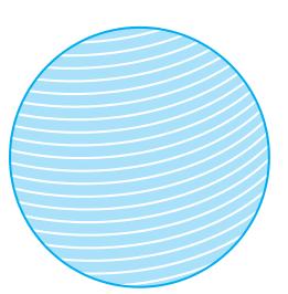 गोला किसे कहते है आयतन छेत्रफल परिभासा
