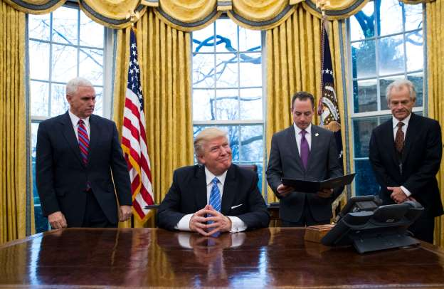 Trump to Order Mexican Border Wall and Curtail Immigration