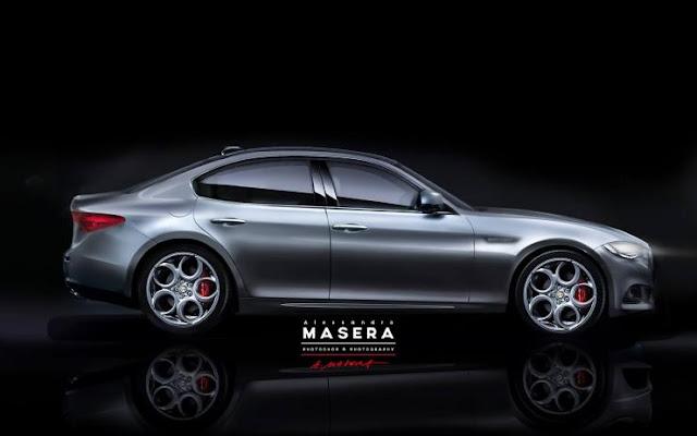 Dimensioni Alfa Romeo Giulia 2015