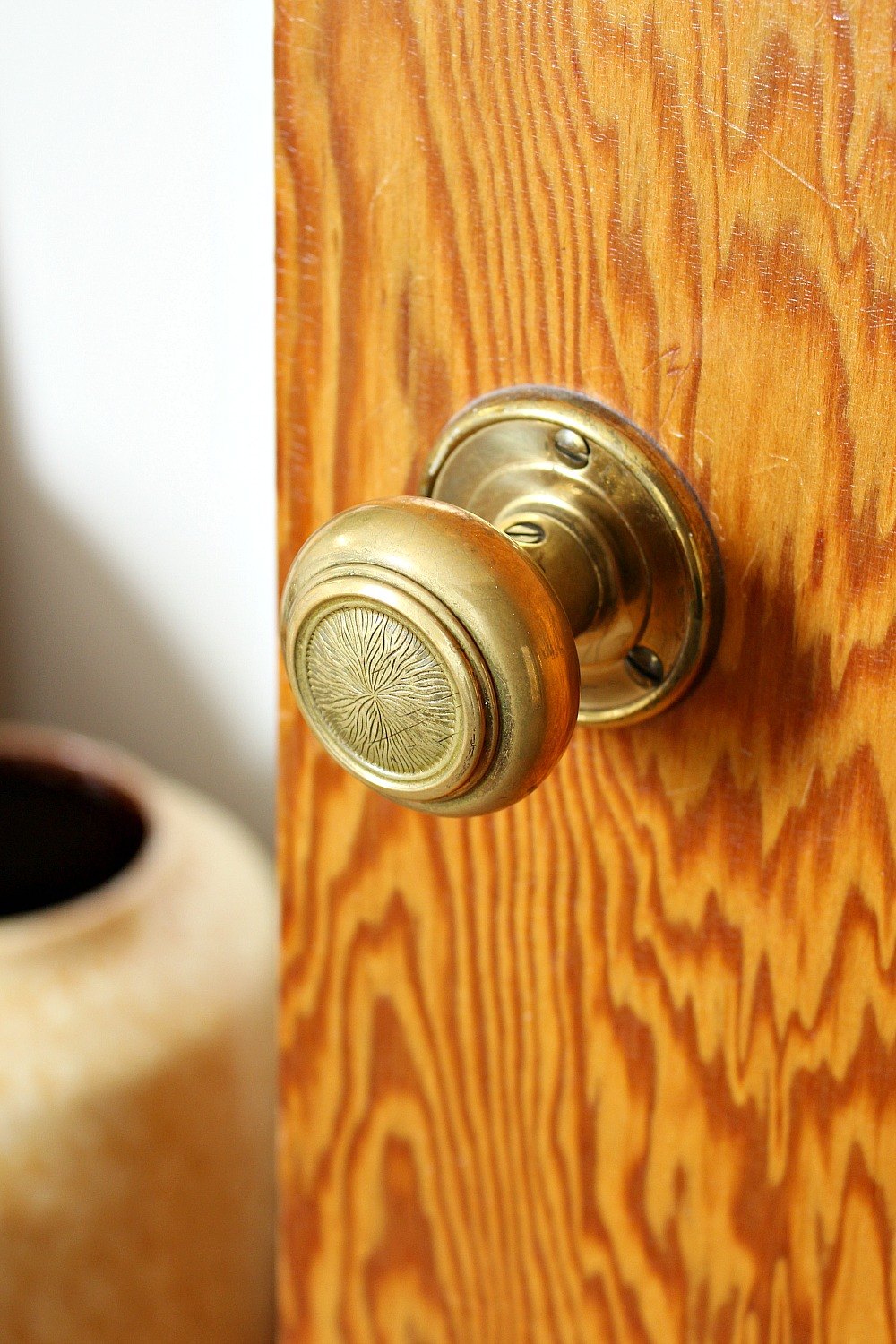 1950s Brass Door Knob