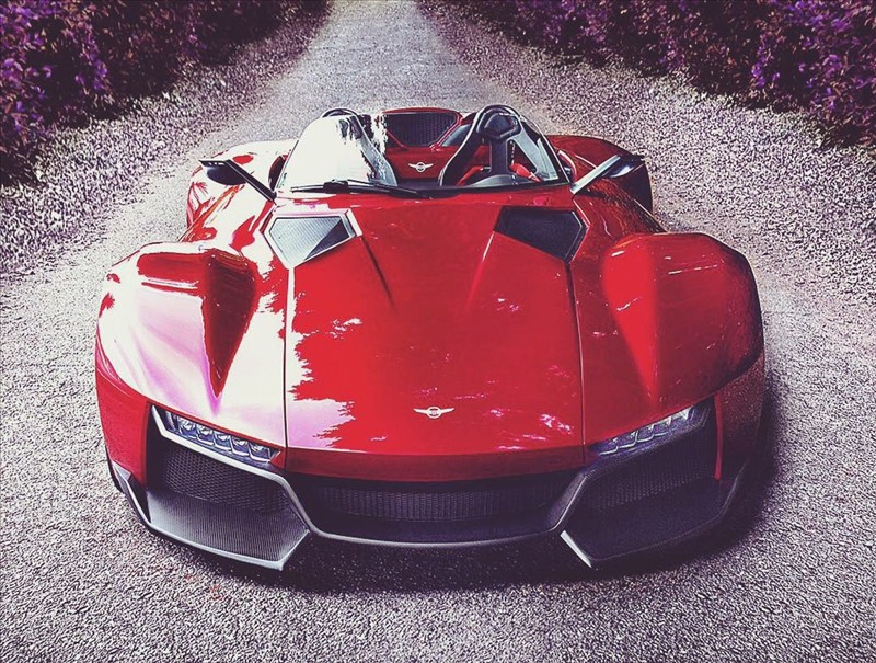 American supercar Rezvani Beast: soon a version of 700 horses