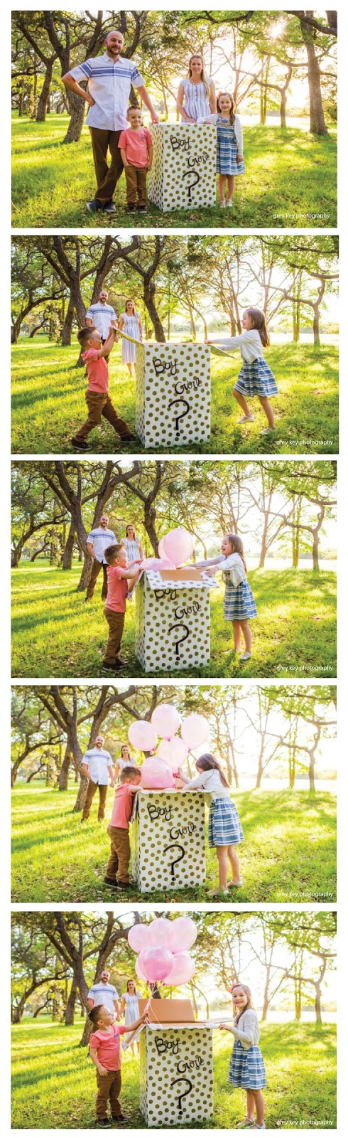 Such a great idea for baby gender reveal pictures!  |  mynameissnickerdoodle.com