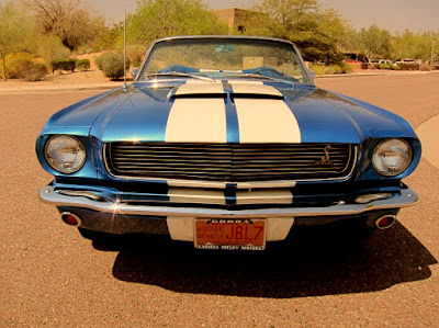 1966 Ford Mustang GT 350 Sport Convertible Front