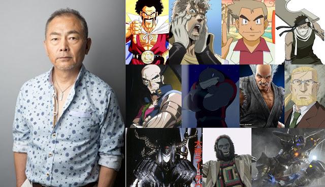Unshō Ishizuka pengisi suara Heihachi Mishima dalam seri Tekken meninggal dunia.