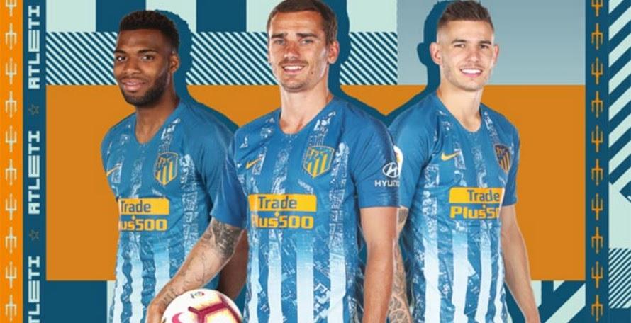 b38f0f4ef Nike Atletico Madrid 18-19 Third Kit Released