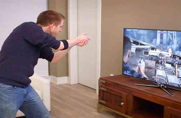 Teknologi  Gaming Gesture Control