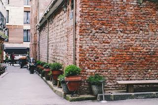 Une ruelle idyllique