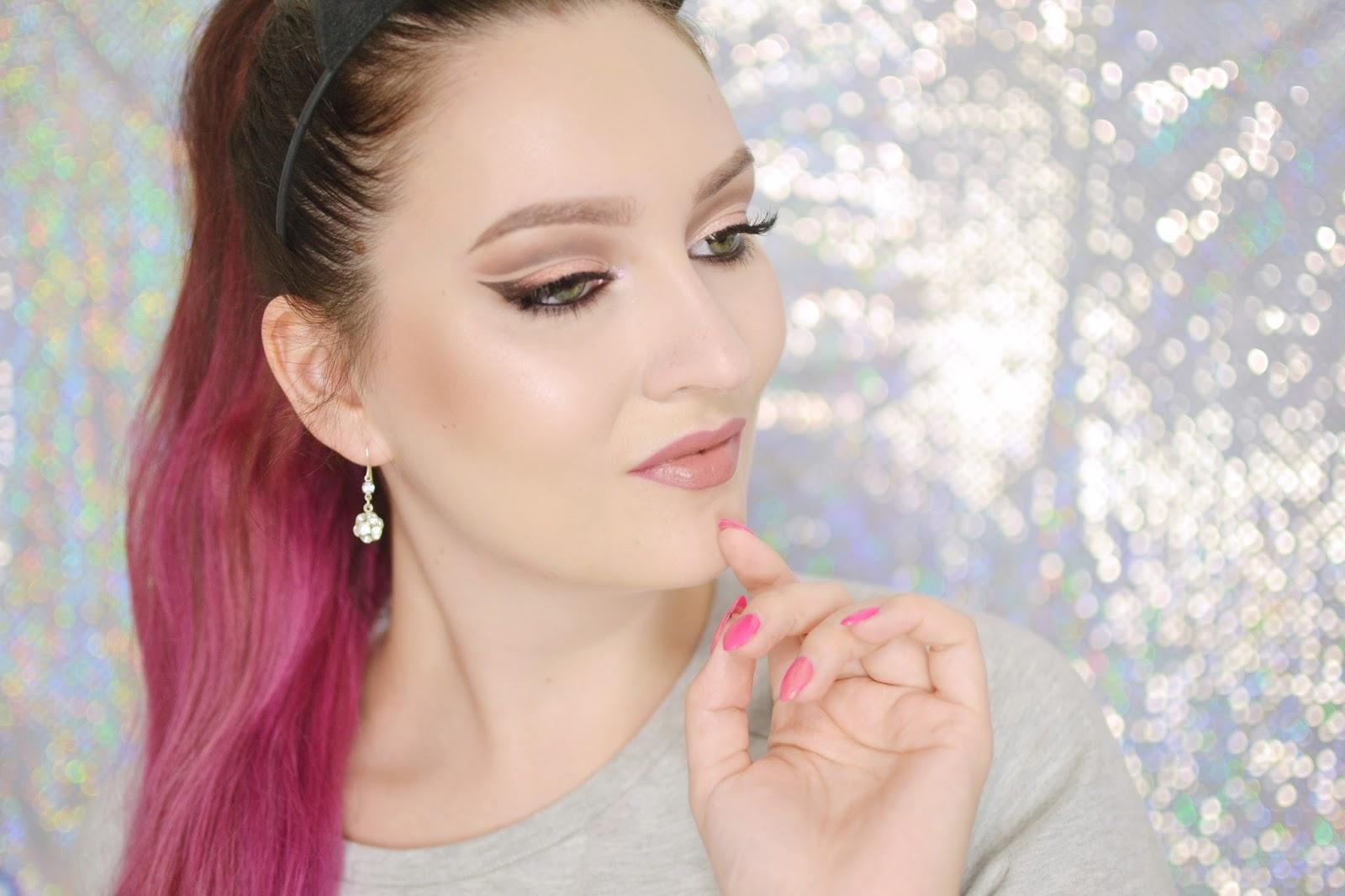 makijaż tutorial cut crease