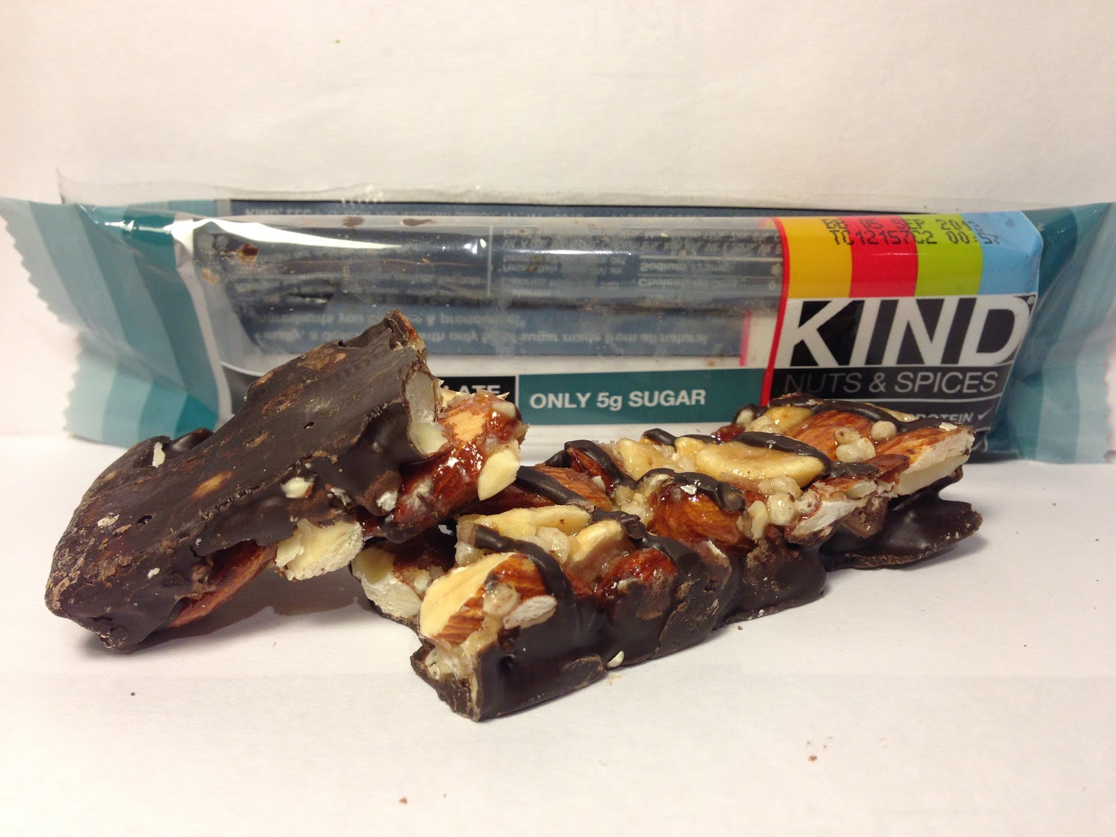 Crazy Food Dude Review KIND Nuts amp Spice Dark Chocolate