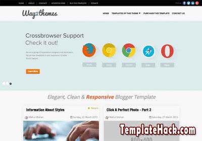 mini t blogger template