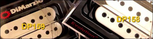 Pastillas Guitarra Eléctrica DiMarzio Evolution