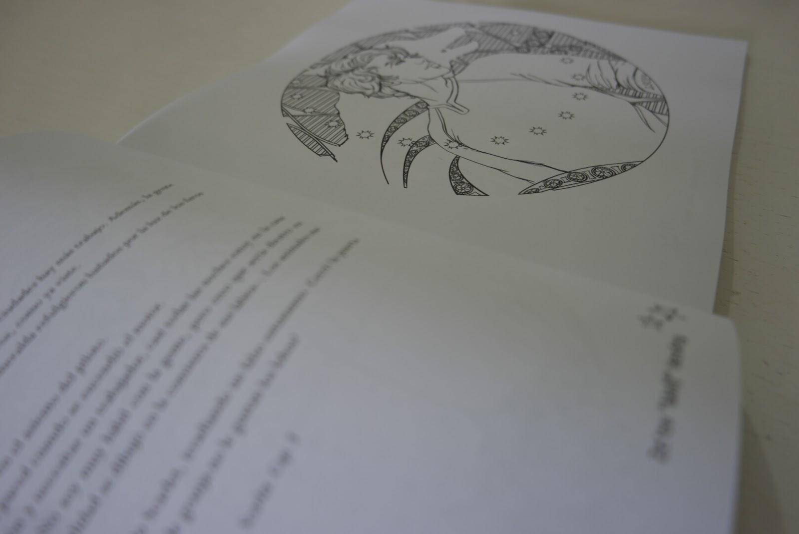 Fotoreseña: Libro para colorear de Crónicas Lunares, de Marissa ...