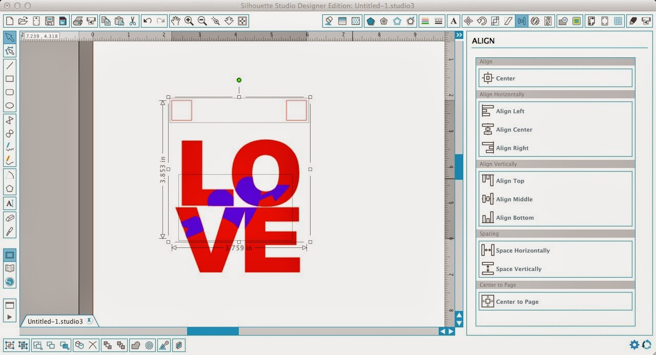 Silhouette tutorial, Silhouette Studio, HTV, vinyl, paper, knockout design