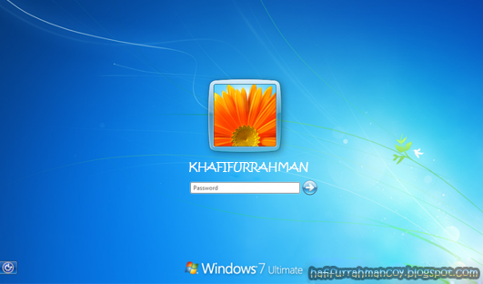 Cara Mudah  Membobol Password Login Windows 7